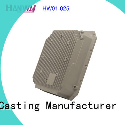 wireless aluminum die casting parts hw01003 design for workshop