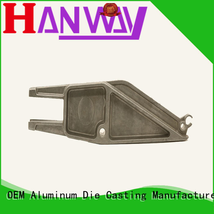 Hanway coating die cast auto parts regulator for manufacturer