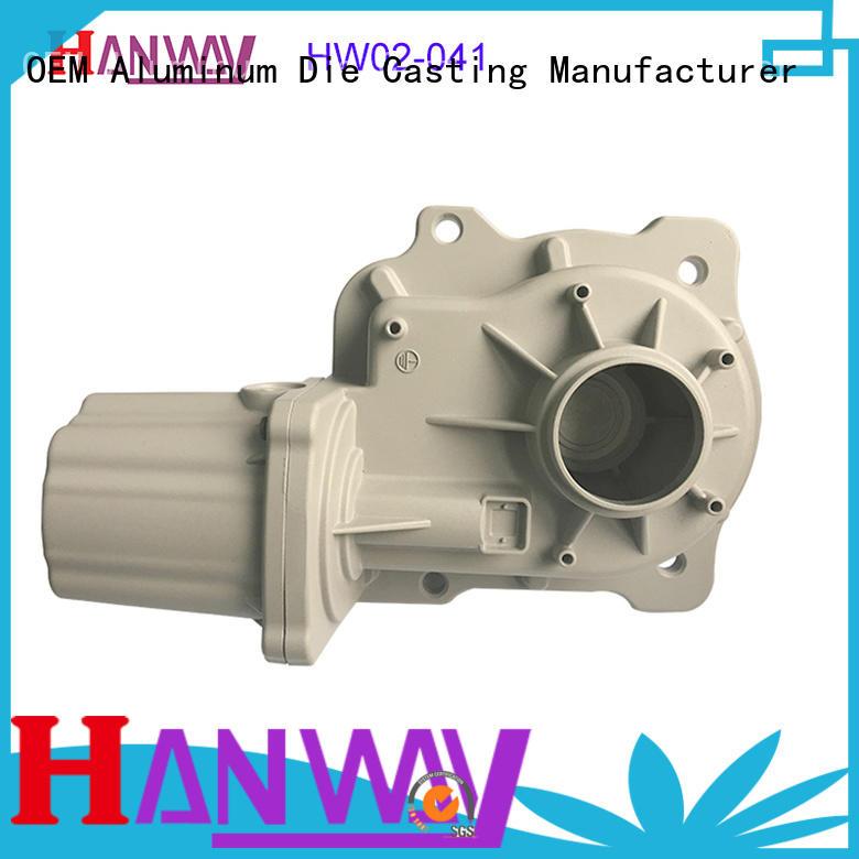 Hanway hw02004 aluminum die casting parts series for manufacturer