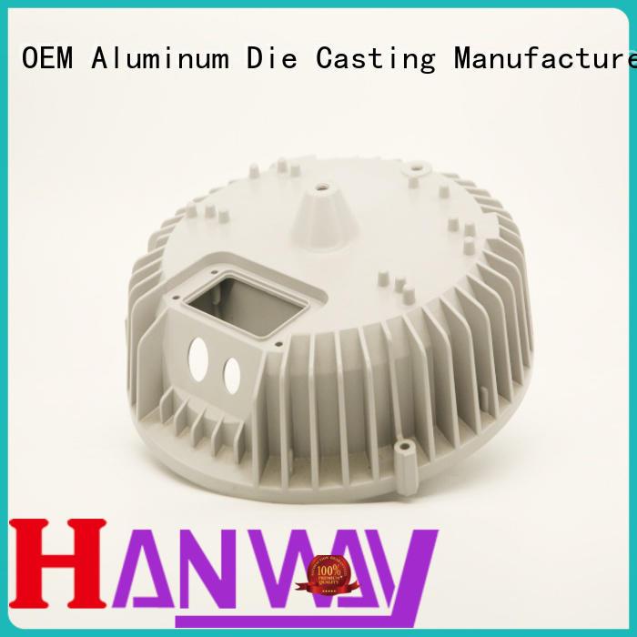 Hanway die casting heatsink for industry