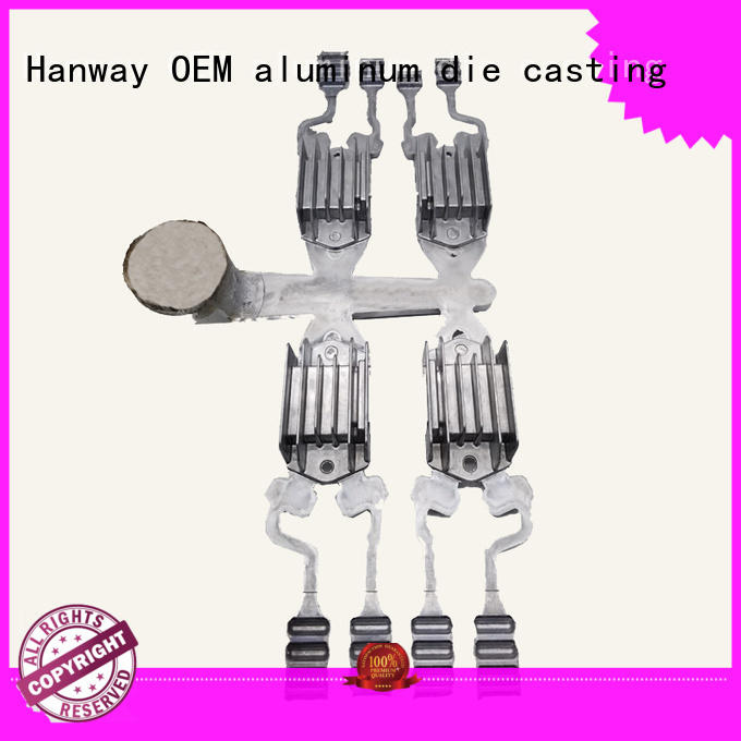 Hanway 100% quality aluminum casting molds part for industry