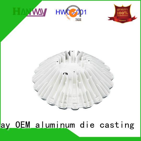 Hanway die casting custom led heatsink kit for manufacturer