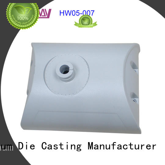 CNC machining die-casting aluminium of lighting parts lamp customized for outdoor