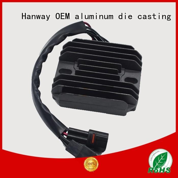 aluminum black Hanway Brand aluminum die casting motorcycle parts