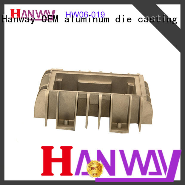 Hanway die casting heat sink customized for manufacturer