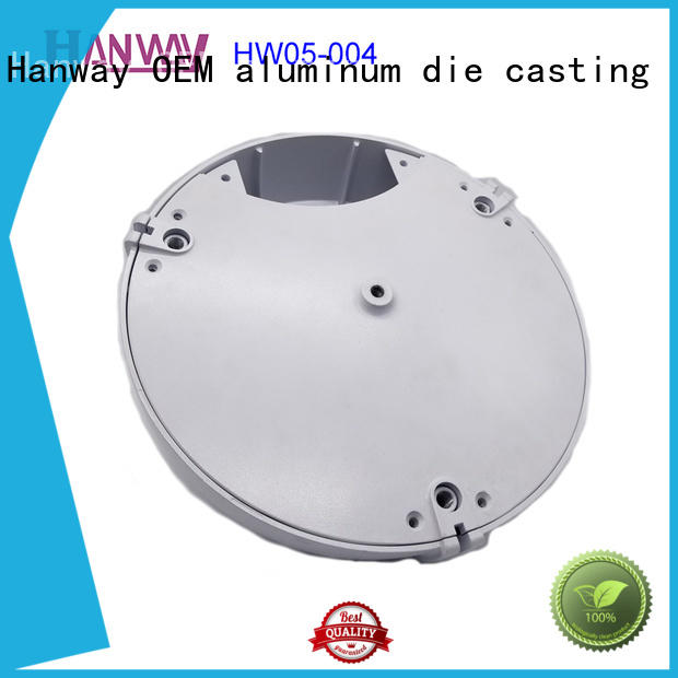 Hanway material recessed lighting housing factory price for mining