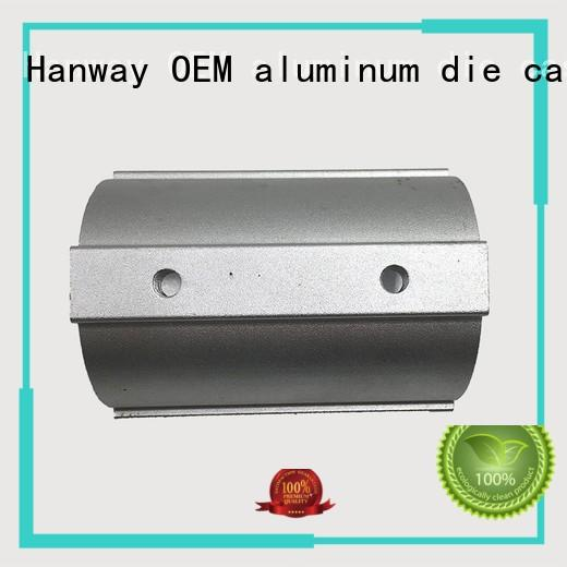 Hanway Brand die precision aluminum light pole lighting factory
