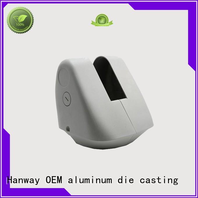bracket waterproof white aluminum casting housing Hanway Brand