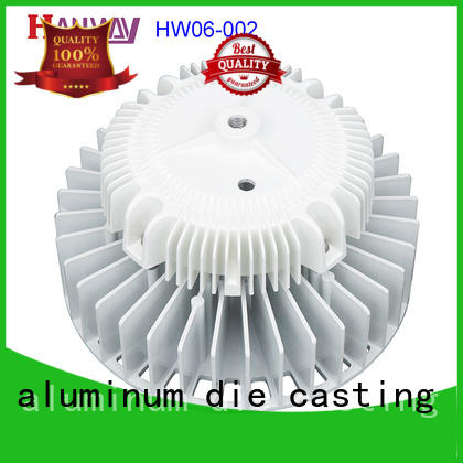 Hanway lamp aluminium casting parts part for manufacturer
