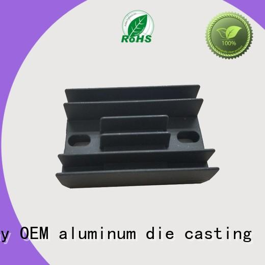 foundry die black aluminum die casting supplier Hanway