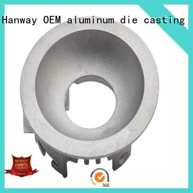 Hanway anodized recessed lighting housing kit for mining