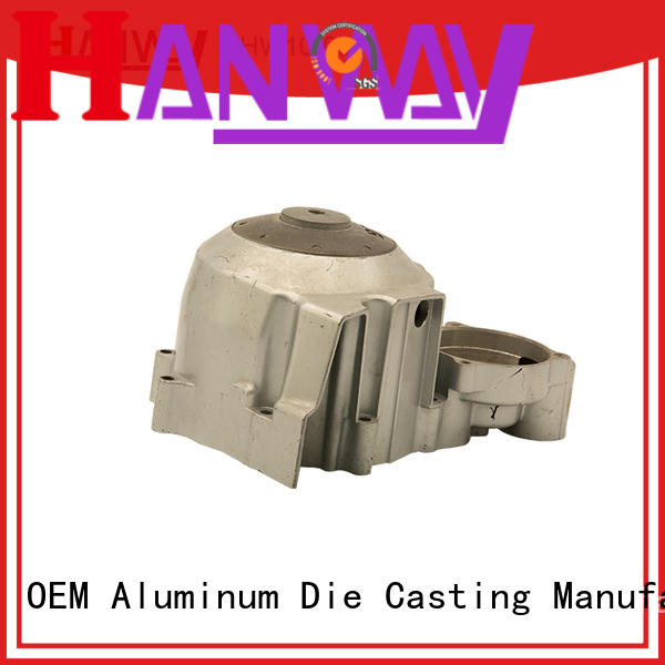 Hanway black aluminium automotive parts supplier for manufacturer