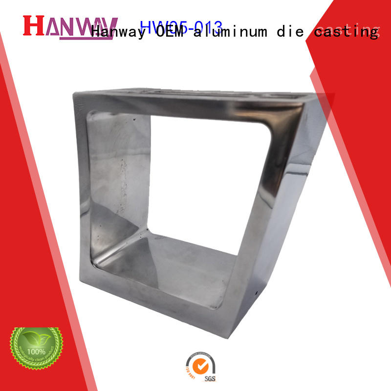 Hanway anodized recessed light covers factory price for lamp