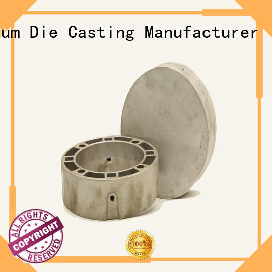 CNC machining aluminum light housing casting supplier for mining