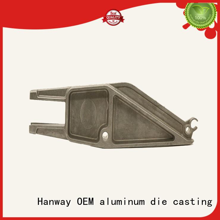 Hanway outdoor die-casting aluminium of lighting parts factory price for outdoor