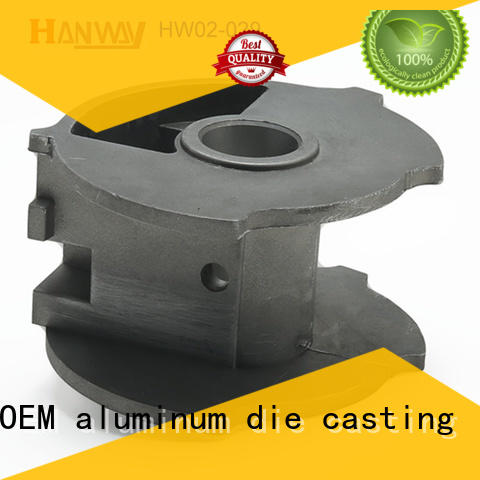 Hanway oem die casting design from China for industry