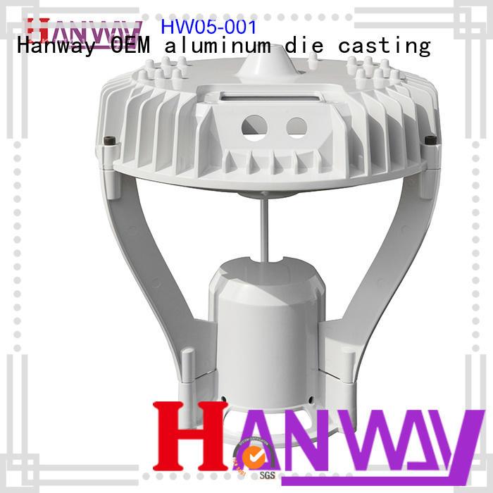 led housing aluminum light housing cast supplier for light