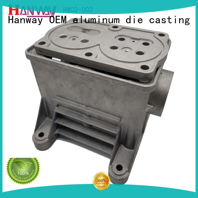 Hanway anodizing die casting parts series for industry