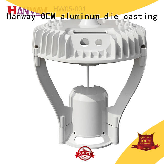Hanway customized die-casting aluminium of lighting parts factory price for lamp