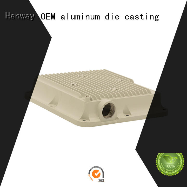die casting aluminum alloy casting white factory for antenna system