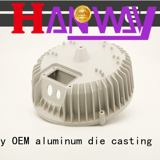 Hanway mechanical aluminium casting parts part for industry