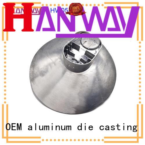 Hanway die casting die-casting aluminium of lighting parts customized for light