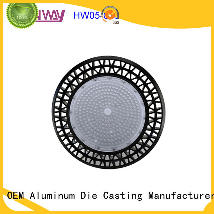 led housing die-casting aluminium of lighting parts hw05009 factory price for outdoor