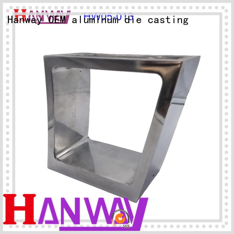 Hanway hw05009 die-casting aluminium of lighting parts customized for mining