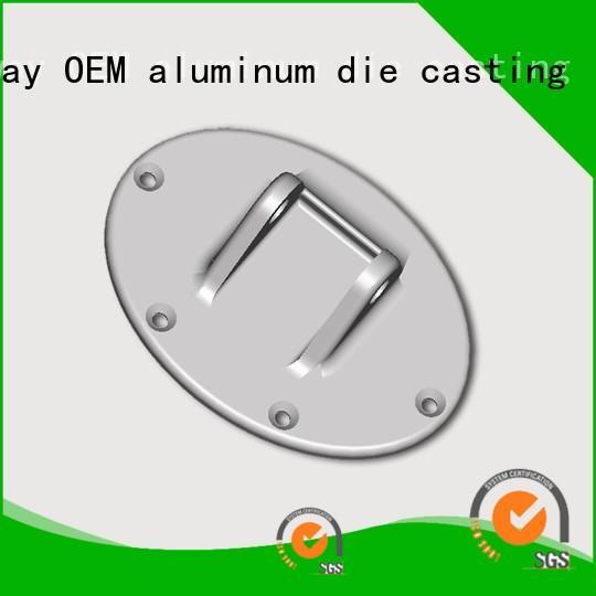 machining parts product aluminium pressure die casting process Hanway Brand