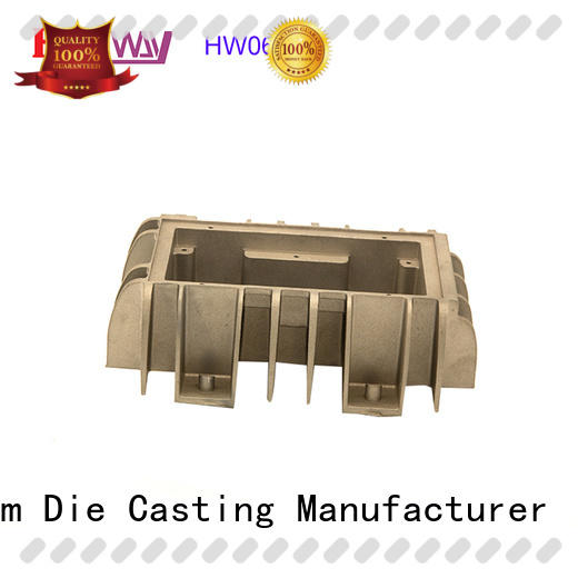 Hanway cast large heat sink part for plant
