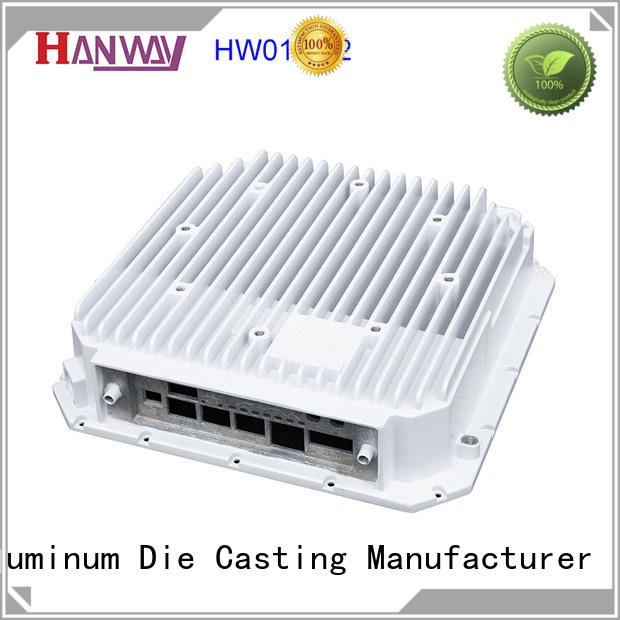 Hanway die casting telecommunication parts accessories factory for antenna system