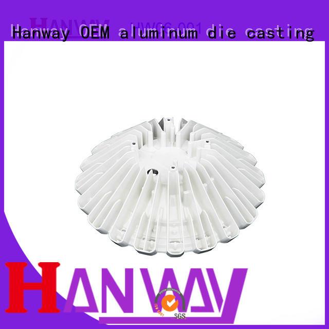 Hanway mining aluminium casting parts supplier for industry