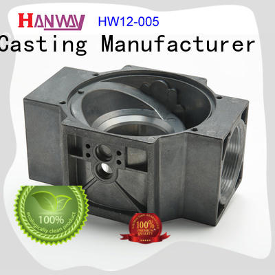 Hanway industrial valve body & flange factory price for plant