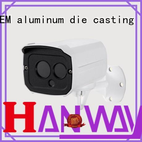 CNC machining cctv accessories foundry customized for lamp