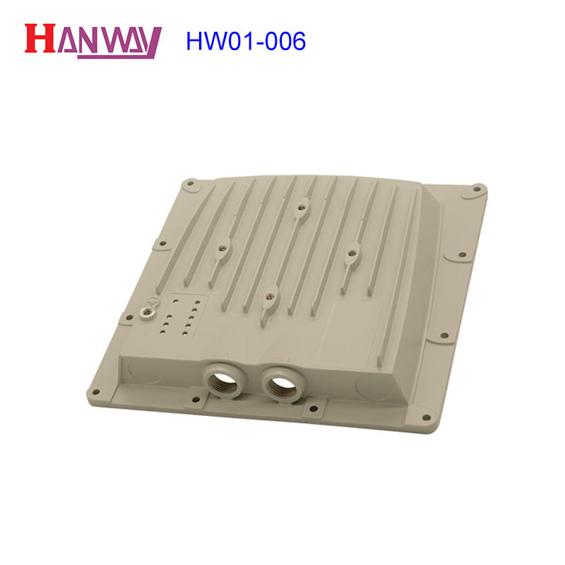 Hanway hw01009 aluminium casting manufacturers inquire now for antenna system-1
