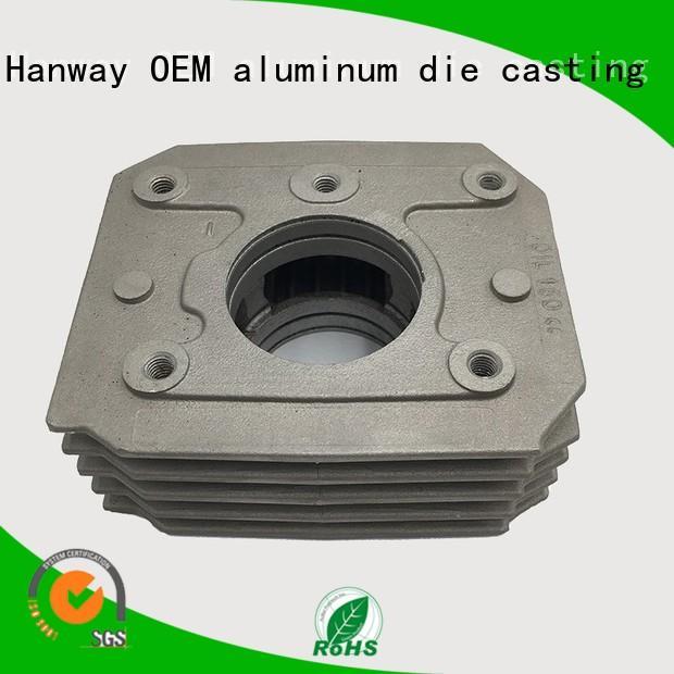 Hanway Brand automobile aluminum cars auto parts machining supplier