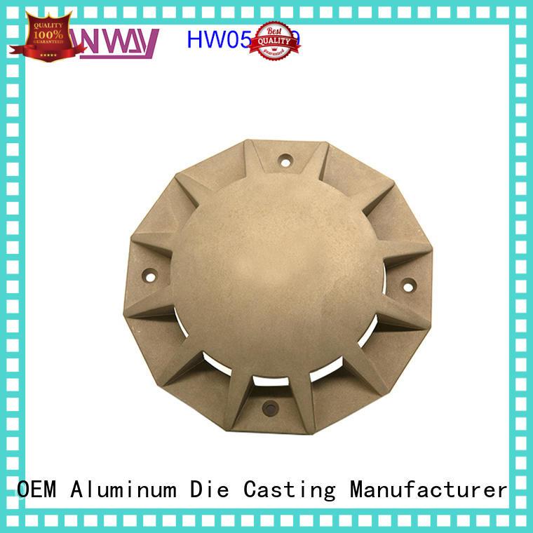 CNC machining aluminium pressure die casting process hw05006 factory price for outdoor