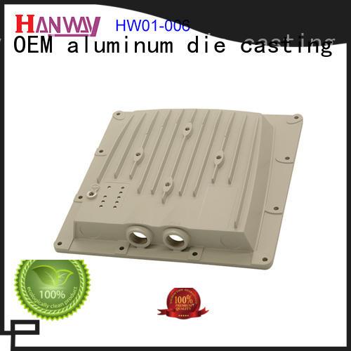 Hanway hw01005 aluminium casting manufacturers design for antenna system