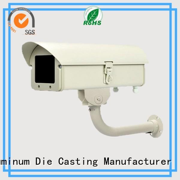 white waterproof aluminum casting cctv Hanway company