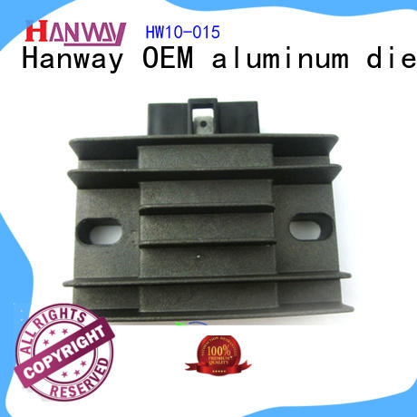 Hanway aluminum automotive & motorcycle parts customized for antenna system