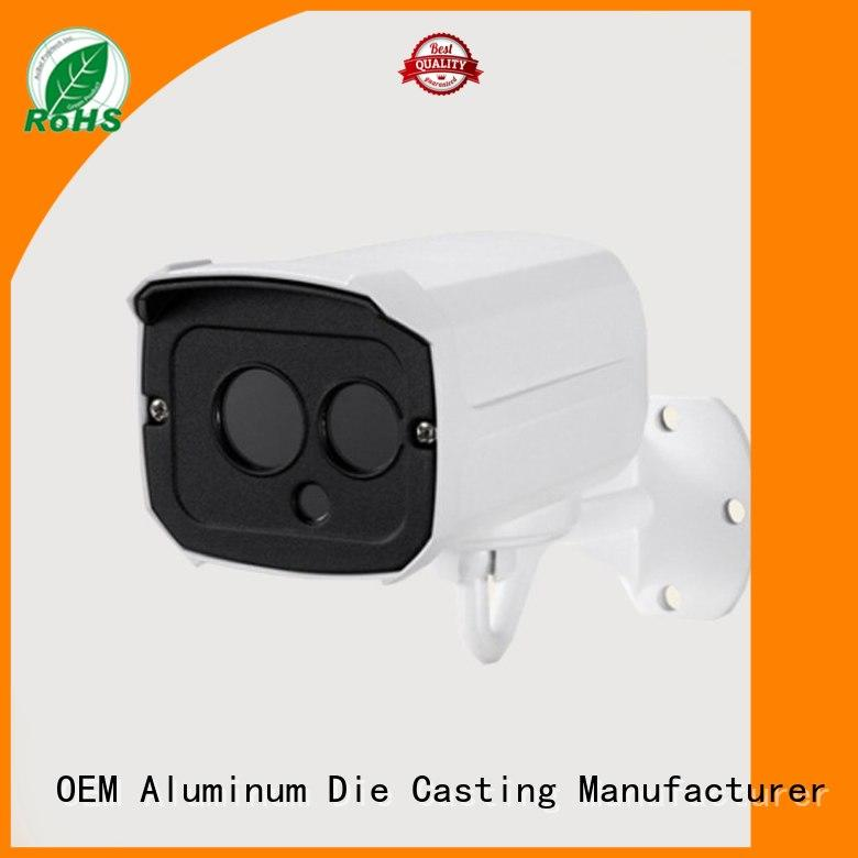 Quality Hanway Brand aluminum casting ideas camera white