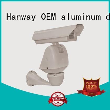 enclosure cctv camera accessories die casting aluminum Hanway company