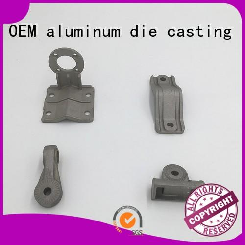 Hot aluminum die casting company part Hanway Brand