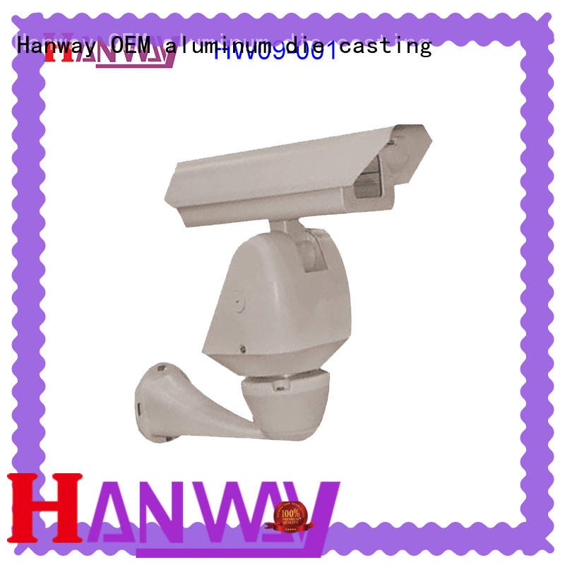 anodized security accessories white part for mining