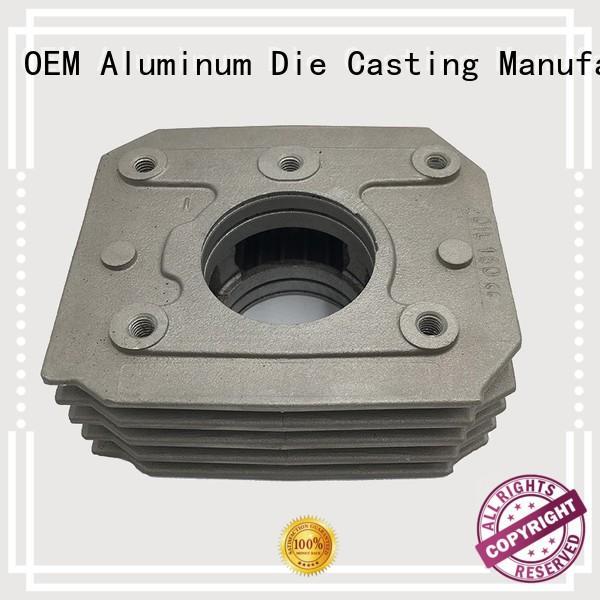 custom auto parts heatsink precision casting Hanway Brand cast aluminum furniture manufacturers