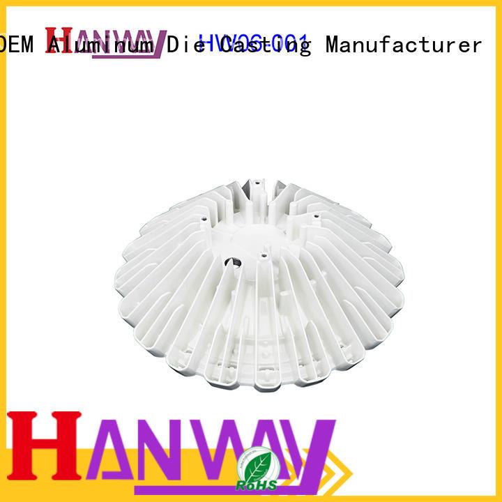 coating led heatsink part for plant Hanway