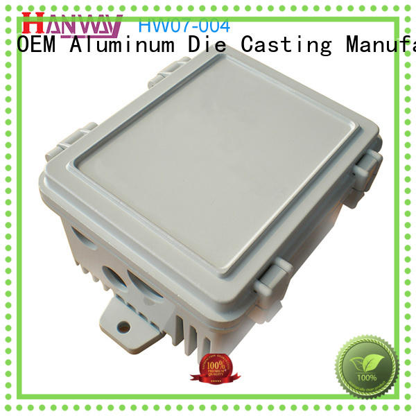 Hanway CNC machining aluminum die casting factory factory for plant