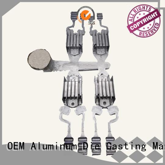 Hanway Brand rectifier aluminum custom aluminum die casting motorcycle parts