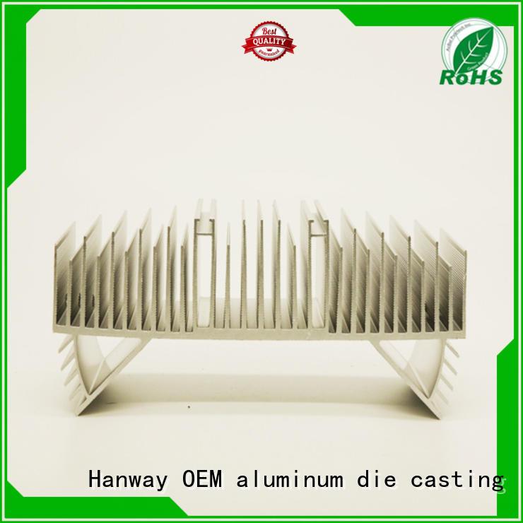 Hanway Brand die industrial light aluminum channel oem