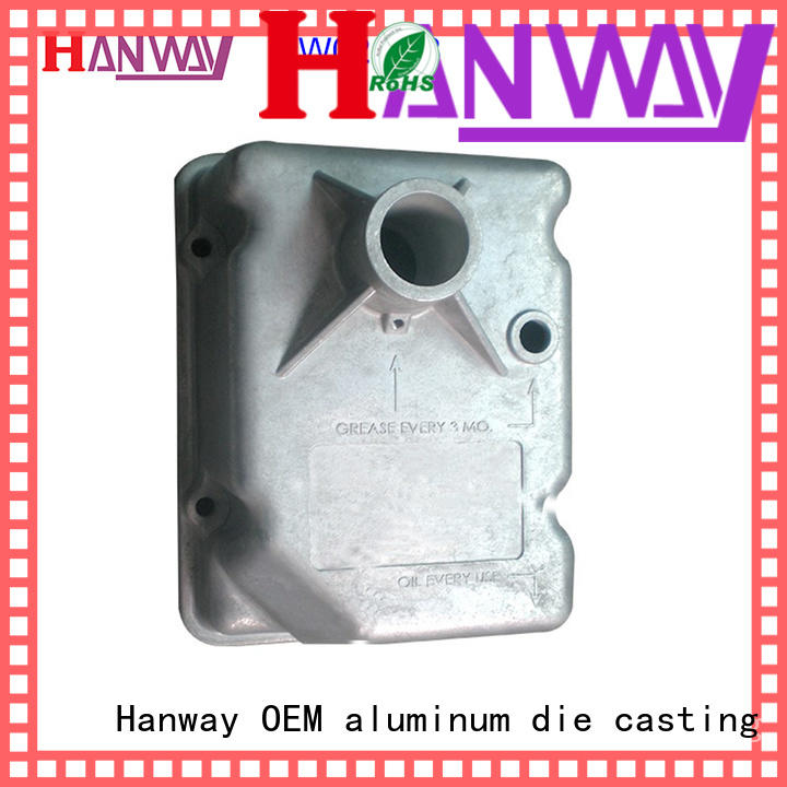 Hanway polished aluminium casting manufacturers supplier for manufacturer